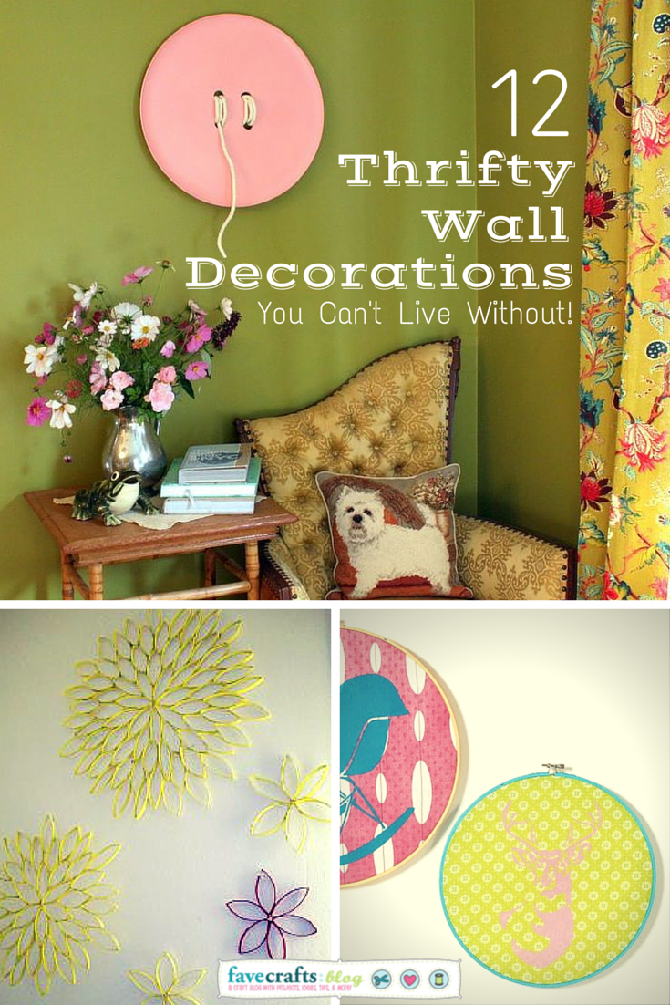 thrifty wall decorations 12 Thrifty Wall Decorations You Cant Live Without