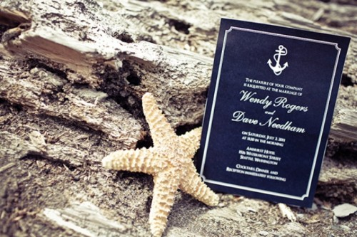 vintage nautical wedding inspiration 6 500x333 Tropical Getaway: Nautical Wedding Inspiration