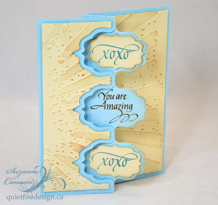 you are amazing The Best Blogger Crafts: You Are Amazing Greeting Card