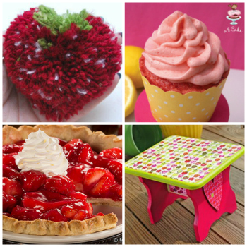 BerrySweet Berry Sweet Crafts and Strawberry Recipes for National Strawberry Month