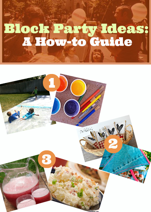 Block Party Ideas header Block Party Ideas: A How to Guide