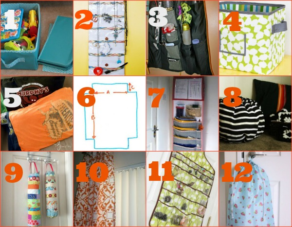 Decorate Your Dorm DIY Dorm Room Projects You Can Sew  ~ 062515_Diy Dorm Room Storage Ideas