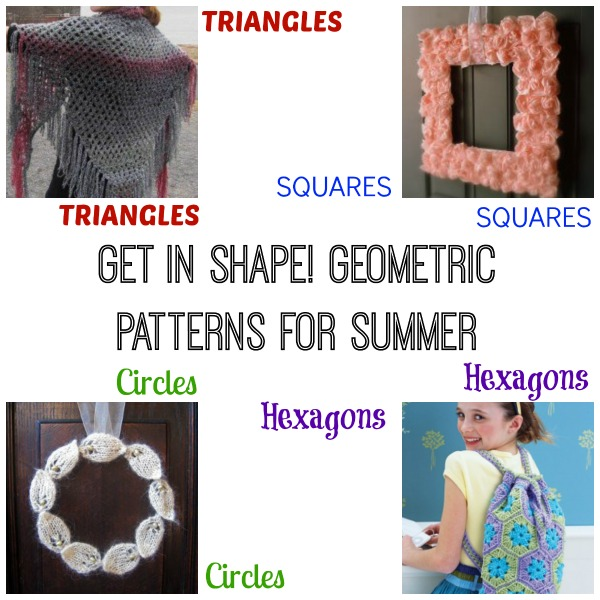Get In Shape! Geometric Patterns for Summer