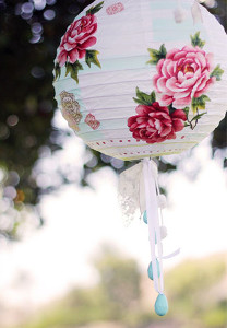 Pretty Paper Lanterns Ooh la la! Planning a Parisian Bridal Shower