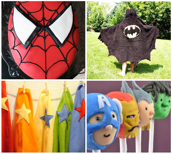 Superhero post1 Be a Hero! Superhero Crafts for Free Comic Book Day