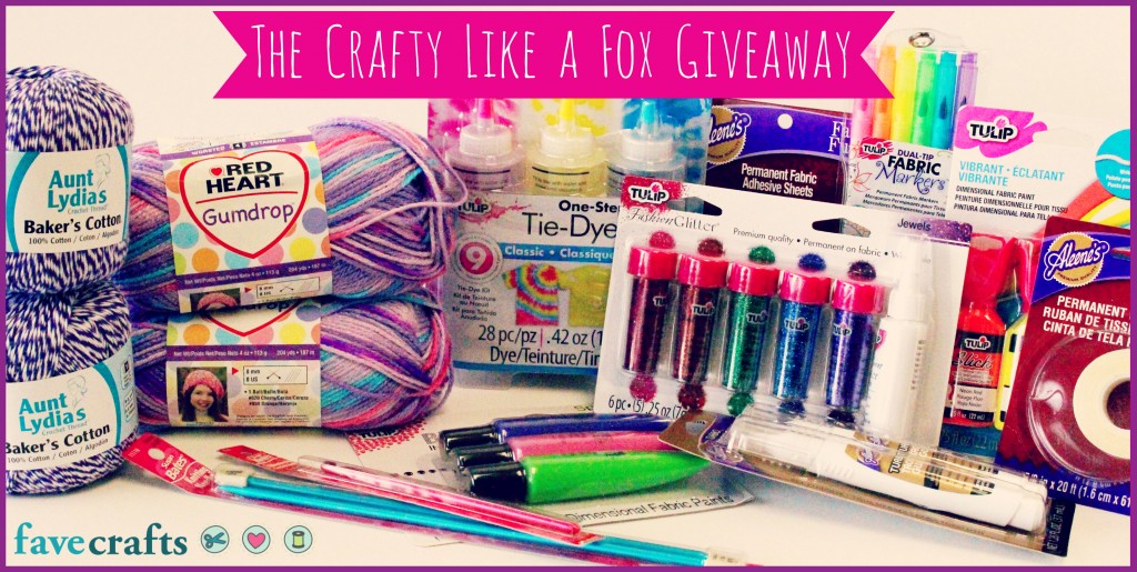 crafty like a fox 1024x515 The Craftys + The Crafty Like a Fox Giveaway