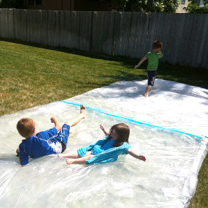 giant outdoor waterbed Block Party Ideas: A How to Guide