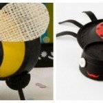 Ladybugs, Bumblebees, and Butterfly Crafts