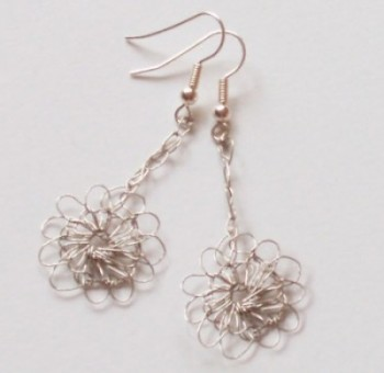 Pretty Daisy Drop Earrings