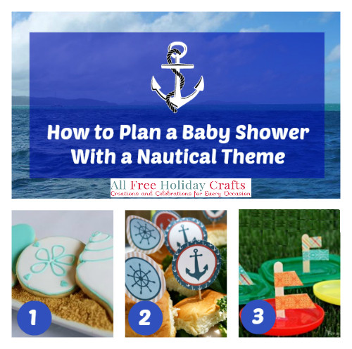 how to plan a baby shower with a nautical theme favecrafts