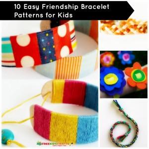 10 Easy Friendship Bracelet Patterns for Kids 300x300 10 Easy Friendship Bracelet Patterns for Kids