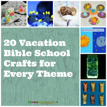 20 Vacation Bible School Crafts for Every Theme