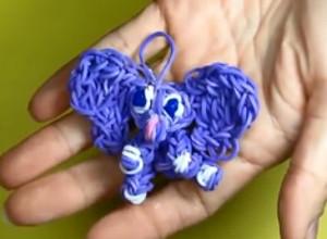Rainbow Loom Elephant Charm