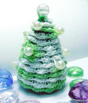 Crochet Pearl Tree