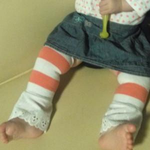 Easy Baby Leg Warmers