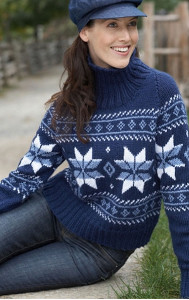 Falling Snowflakes Sweater blog Snow Need to Flake Out   14 Snowflake Crafts & Giveaway
