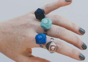 Geometric Bead Rings