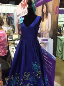 IQF Dress 225x300 Rosemonts International Quilt Festival: Trends & Hot Topics