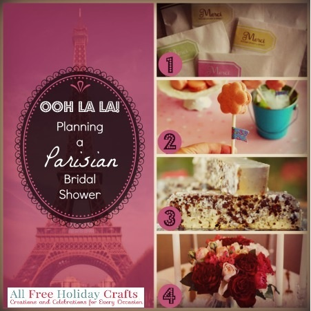Parisian Bridal Shower Main Ooh la la! Planning a Parisian Bridal Shower
