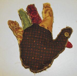 The Traditional Turkey Handprint