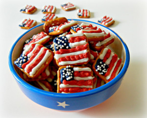 american flag pretzels 15 Fun 4th of July Crafts Your Kids Will Love