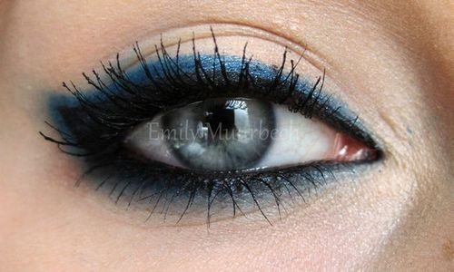 blue eyeshadow makeup Fresh Solutions for an Old Rhyme: Something Blue Ideas
