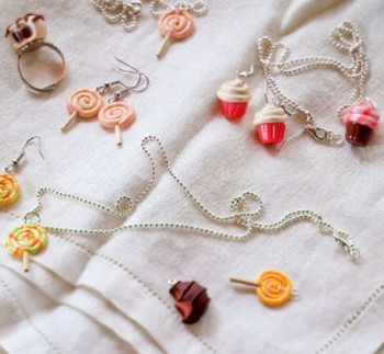 Cute Candy Charm DIY Jewelry
