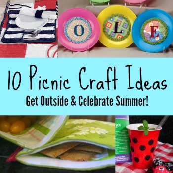 pic collage 10 Picnic Craft Ideas To Help You Celebrate Summer