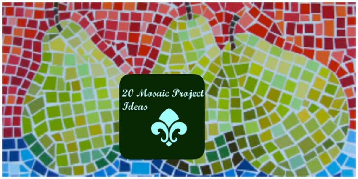 Do As The Romans Do 20 Mosaic Project Ideas Favecrafts