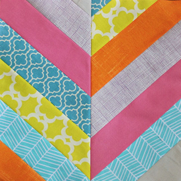 the chevron summer 17 easy quilt patterns   favecrafts