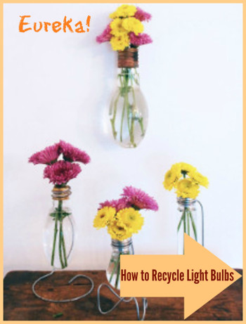 How to Recycle Light Bulbs Bright Ideas: How to Recycle Light Bulbs in Creative Ways