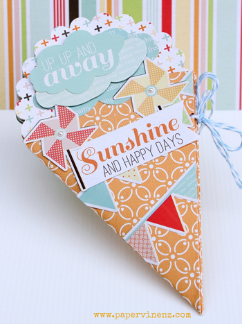Ice Cream Paper Crafting