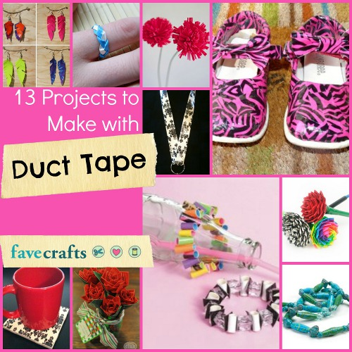 ducttapecrafts 13 Projects to Make with Duck Tape