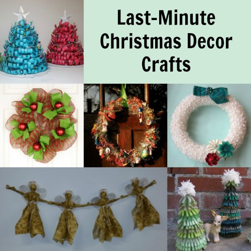 Not Too Late To Decorate 13 Christmas Crafts Favecrafts