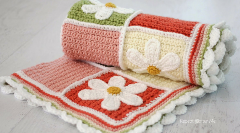 7 Free Crochet Afghan Patterns In Pastel Colors That Will Surprise