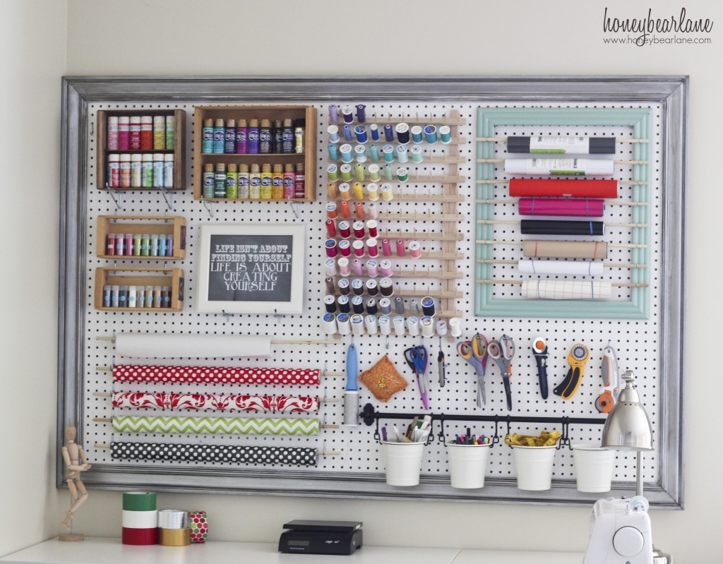 Framed Large Pegboard Tutorial