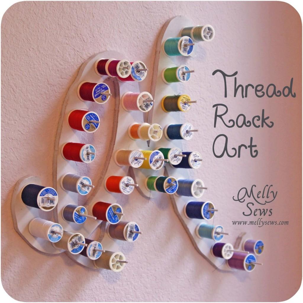 Thread Rack Art