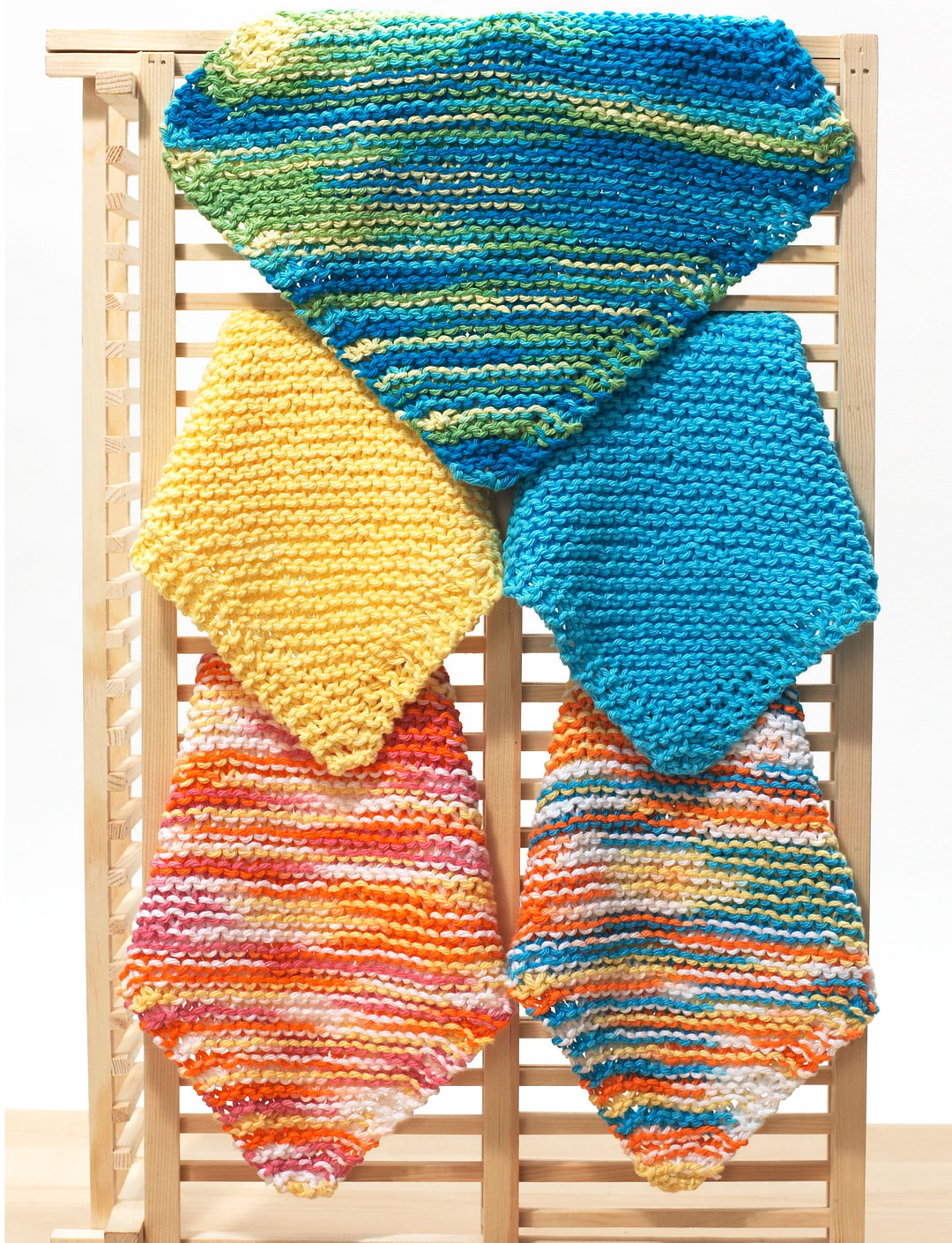 Knitting Dishcloths Easy : The knit dishcloth pattern collection every knitter needs