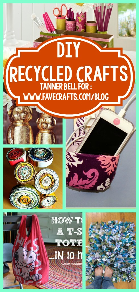14 diy recycled crafts that will help the earth - Diy recycled paper crafts ...