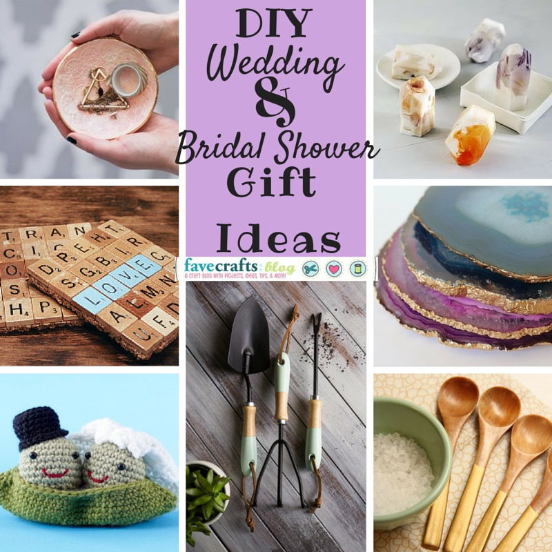 Perfect Wedding Gift For Sister : 10+ DIY Wedding Gifts Any Bride-to-Be Will Love - FaveCrafts
