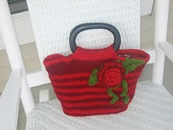 Rose Tote Bag. This image courtesy of silkaburgoyne.com.