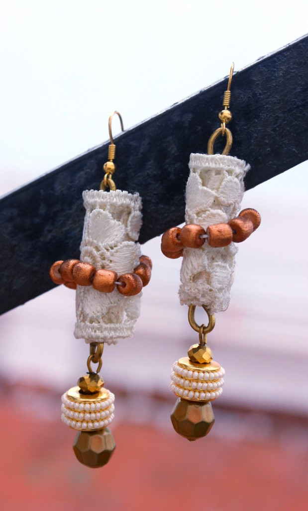 lacy summer earrings