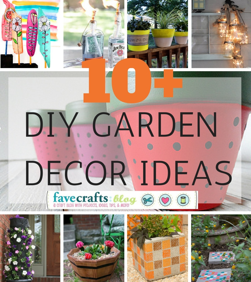 Garden Decorations Diy: DIY Garden Decor Ideas You'll Totally Dig