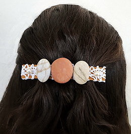 Beach Pebble Barrette