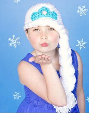 Frozen Elsa Hat