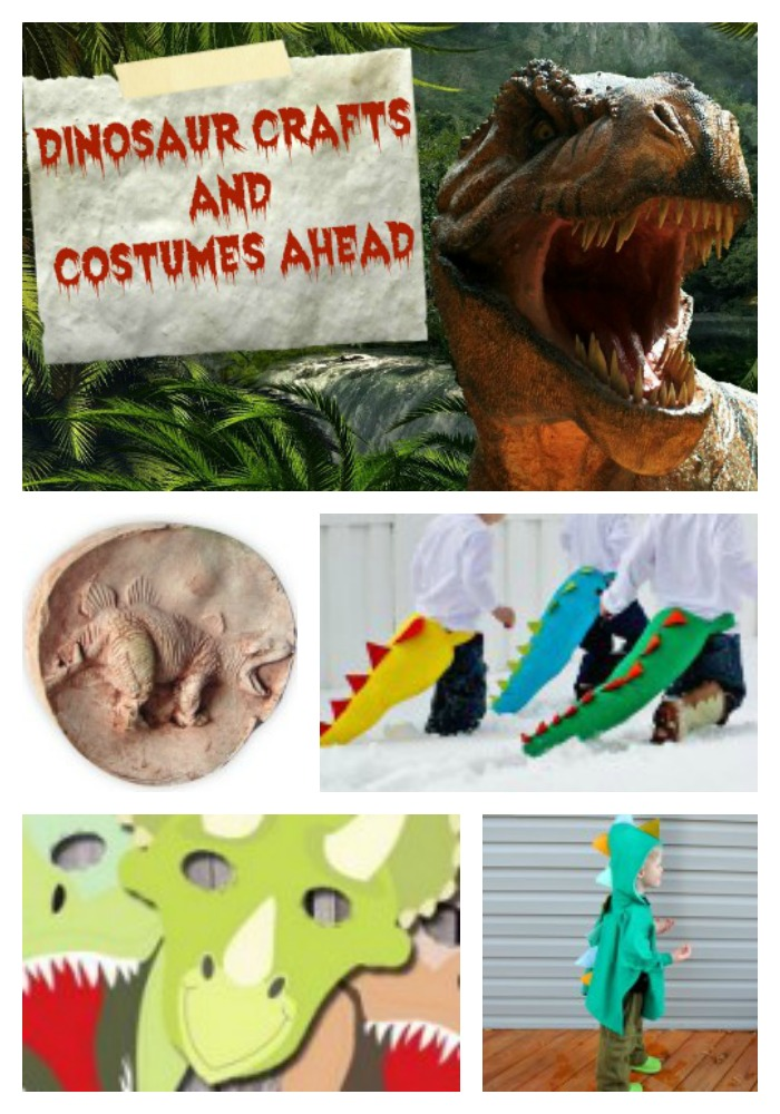 Jurassic World Inspired Crafts