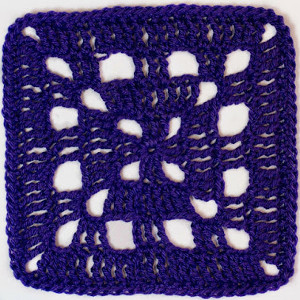 Basic Crochet Square, free crochet pattern by Olivia from Hopeful Honey on FaveCrafts.