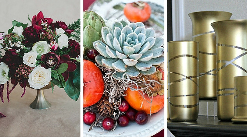 Plan Ahead: 14 DIY Fall and Winter Wedding Centerpieces - FaveCrafts