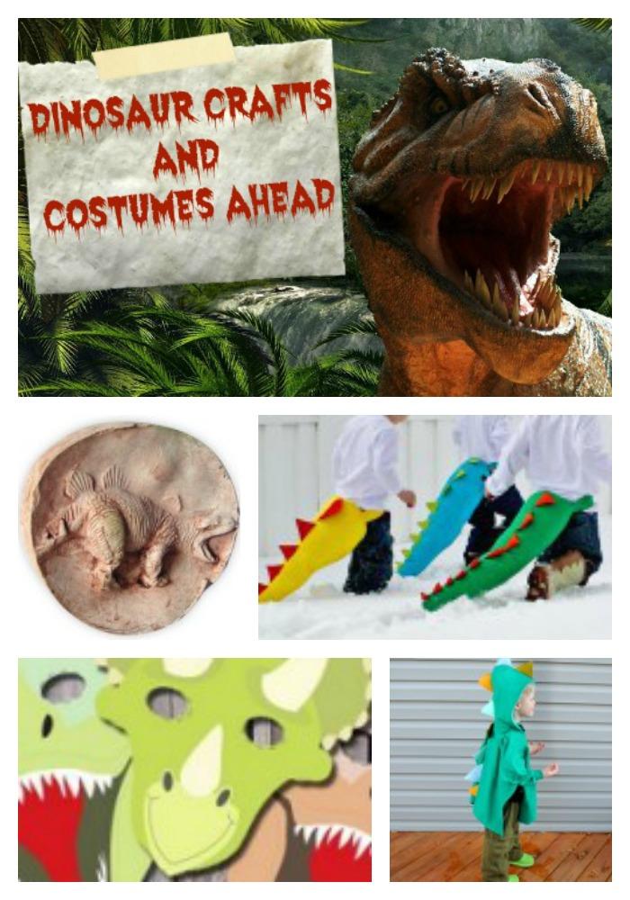 Jurassic World Inspired Crafts
