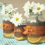 Citrus Mason Jars